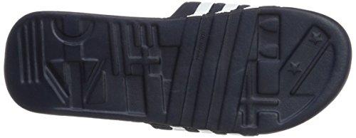 adidas Adissage, Chaussures de sport homme Bleu (New Navy/new Navy/running White Footwear)