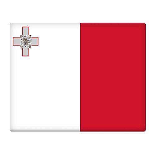 malta-flag-10x8-pre-drilled-metal-sign-129