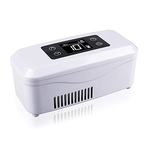 Tragbarer Insulin-Kühler 2-25 ° C Auto-Kühlraum-Medizin-Kühlraum-Beutel-Auto-Minigröße Für Augentropfen/Interferon-Droge-Lagerung Intelligentes Langes Bereitschafts-12H