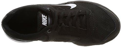 Nike Herren Tri Fusion Run (Gs) mehrfarbig (Black/White-Drk Gry-Mtllc Slvr)