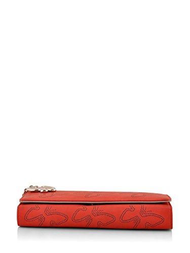 Butterflies Women's Wallet (Red) (BNS 2383RD)