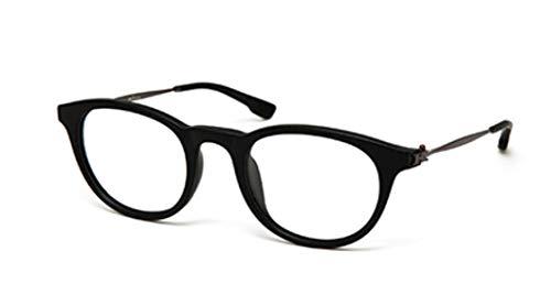 Preisvergleich Produktbild Kiton Herren Brillengestell Schwarz Schwarz 49