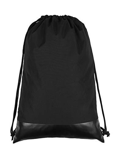 Turnbeutel Beutel Rucksack Wasserdicht Gymsack Sportbeutel mit Tasche Drawstring Bag für Schulsport,Schwimmen,Reisen - von Lixada -