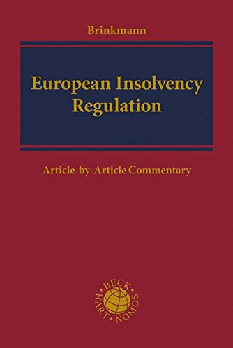 European Insolvency Regulation: Commentary