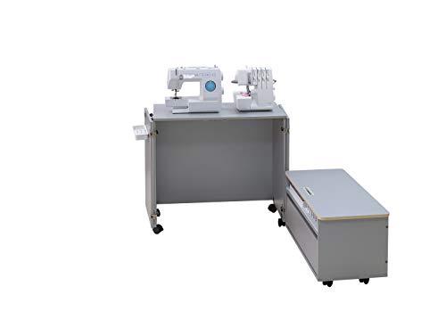 Comfort NEXT | Mueble para máquina de coser | Armario de costura | (Oak Sorano Natural Light)