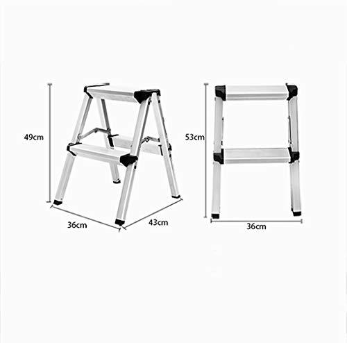 Echelle pliante Echelle 2 marches, Tabouret échelle double usage (Taille : 3-Step)