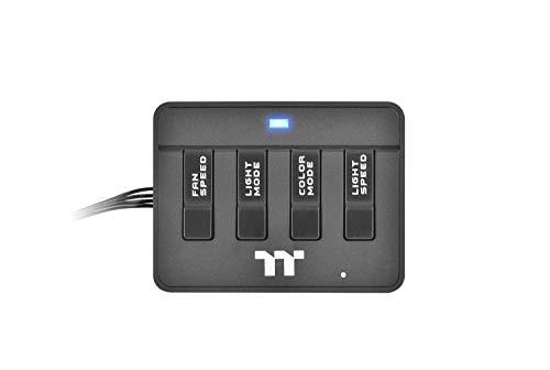 Thermaltake Riing Plus RGB Controller Gehäuselüfter Zubehör/Kontroller Schwarz