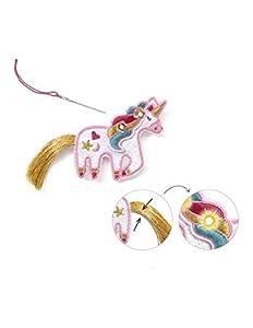 Djeco Joyas para iluminar Dulce Unicornio (39321), Multicolor (1)