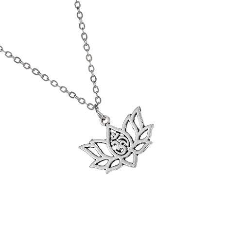 Meisijia Legierung höhlte Blumen-Halskette Retro Flower Neck Sweater Claviclekette Street Kette Schmuck -