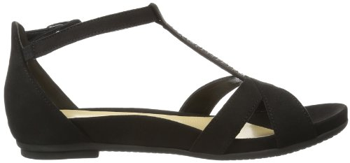 Gabor Shoes Gabor 85.520.17, Sandali Donna Nero (Schwarz (schwarz))