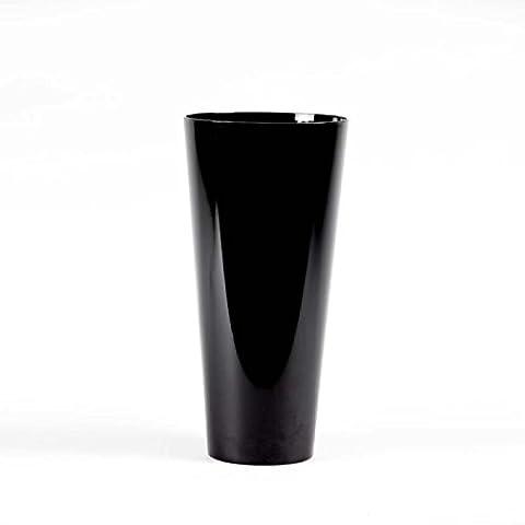 Conical Acrylic Plastic Vase 35cm Height