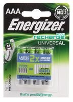 Best Price Square Battery, PRE-CH NIMH AAA 500MAH 4PK 638624 by Energizer