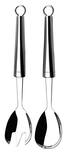 Edelstahl Ep-serie (Lagostina 12335510100 Edelstahl Küchenhelfer, Salatbesteck 2-teilig)