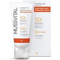 MUSSVITAL Fotoprotector Facial Fluido Crema spf 50+ 50 ml