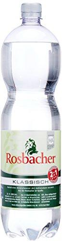 Die Rosbacher Mineralwasser  natürliches im Vergleich