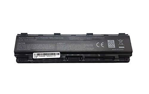 Batería de Repuesto PA5023U-1BRS PA5024U-1BRS PA5025U-1BRS PA5026U-1BRS Compatible para Toshiba Satellite C50 C800 C840 C845 C850 C855 Portátil Bateria 10.8V 4400mAh