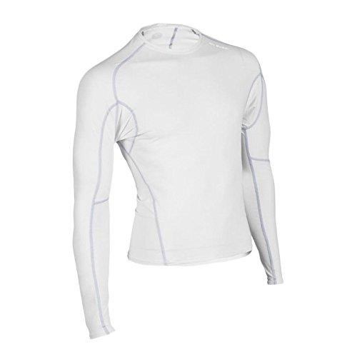 Langarm-Kompressionsshirt Piston 140 L/S Herren L white (Sugoi Bekleidung)