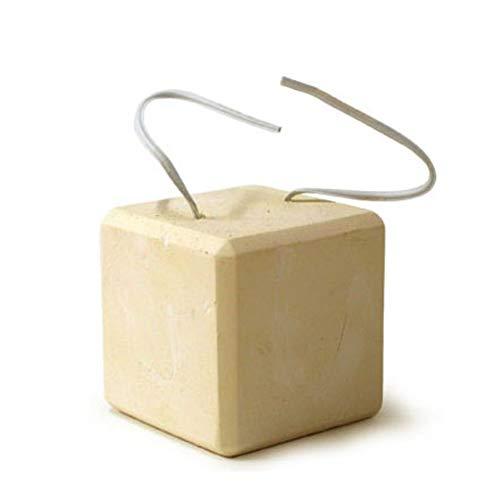Romote 1 PC Pet Zähneknirschen Steine ??Mineralien Calcium-Platz Hamster Chew Block-Kauen-Spielzeug Pet Molar Chewing Spielzeug Tierzubehör S -