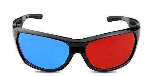Gafas 3D rojo / cian gafas anaglifo 3D gafas 3D calidad