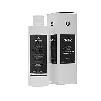 D'Bullón Profesional Loción Hidratante Tonificante, Solución sin Alcohol con Aloe Vera Ecológico – 250 ml