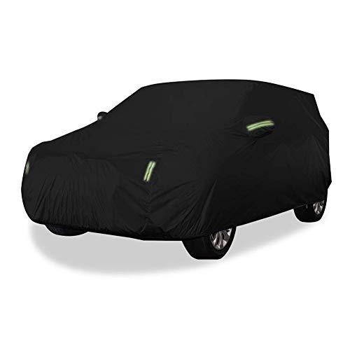AWY-YFQH Compatibile con La BMW X1, X3, X4, X5, X6 Modelle, Car Cover SUV Spesso in Tessuto Oxford di Protezione Solare Impermeabile della Copertura della Pioggia Anti-corrosione E Antipolv