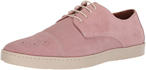 Stacy Adams Men's Travers Cap Toe Oxford Sneaker, Misty Rose, 7.5 M US