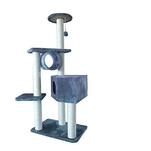 Daeou kratzbäume für Katzen Katze Spielzeug Pet Raubkatze Plattform Katze Plüsch Katze Nest 60 * 40 * 141 cm