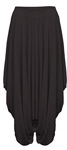 womens-ladies-gathered-draped-baggy-harem-pants-trousers-lagenlook-alibaba-pantalon-femme-multicolor