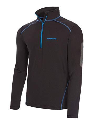 Trangoworld pc008130 – 110 – 2 x l Pullover, Homme, Noir, 2 x l