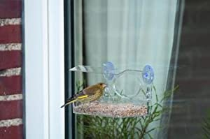 Window Feeding Table for Garden Birds from C J Wildlife