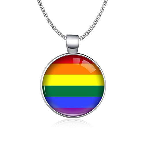 Besten Kostüm Schwul - Regenbogen Infinity Liebe Gewinnt Herz Glbt Für Lesben Schwule Bisexuelle Transgender Männer Lgbt Rechte Stolz Halsketten Für Frauen