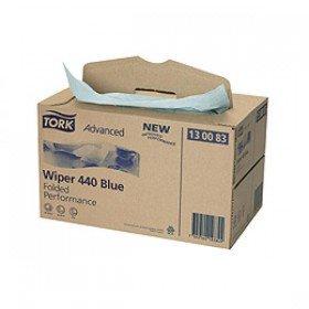 Preisvergleich Produktbild Putztuch Tork Advanced 440 blau 3lagig L.325xB.385mm 200St./Krt.