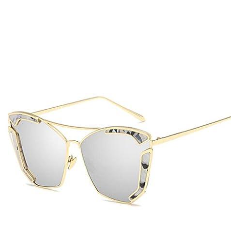 Wmshpeds Europa und die Vereinigten Staaten trend Sonnenbrille, Metall retro Sonnenbrille, Zuzug von Menschen Sonnenbrille