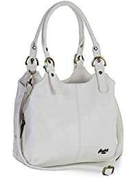 54b378cf2083 Amazon.it  borsa bianca  Scarpe e borse