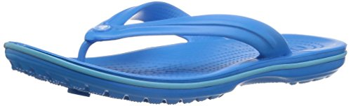 Crocs crocband flip 11033, infradito unisex - adulto, blu (ocean/electric blue), 39/40 eu