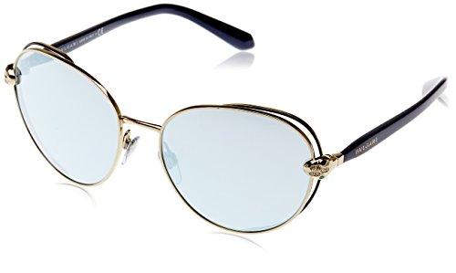 Bulgari Damen 0Bv6087B 20206J 57 Sonnenbrille, Blau (Blute/Blue White),