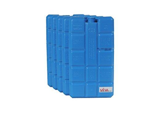 Viva-Haushaltswaren 8 Kühlakkus je ca. 200 ml / Kühlelemente für Kühltasche Kühlbox