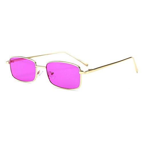 Highdas Kleine Quadratische Sonnenbrille Frauen Vintage Sonnenbrille Transparente Gläser Männer Retro Klare Linse Brillen C4