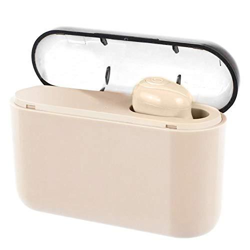 X8 In-Ear-Kopfhörer, kabellos, Bluetooth Headset, Freisprechanlage mit Powerbank, HS Beige beige -