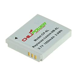 Original Chilipower Nb-6l, Cb-2ly 1050ah Battery For Canon Powershot D10, D20, S90, S95, S120, Sd770 Is, Sd980 Is, Sd1200 Is, Sd1300 Is, Sd3500 Is, Sd4000 Is, Sx170 Is, Sx240 Hs, Sx260 Hs, Sx270 Hs, Sx280 Hs, Sx500 Is, Sx510 Hs, Elph 500 Hs, Ixus 25 Is, 85 Is, 95 Is, Digital Ixus 105, 200 Is, 210