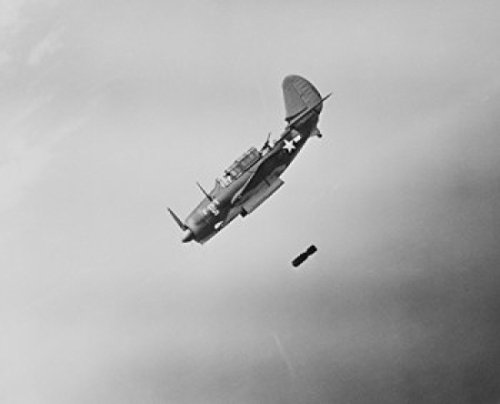 curtiss-sb2c-helldiver-lines-up-its-sights-on-a-target-before-loosing-its-deadly-missiles-artistica-