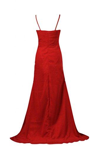 Sunvary perle, lunghezza alla caviglia, con zircone, scollo corpino da sera sera, abiti Gowns Regency