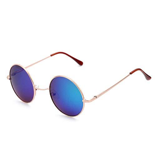 WERERT Sportbrille Sonnenbrillen Candy Color Round Sunglasses Women Fashion Sun Glasses Women Mirror Classic Vintage Uv400