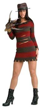 Nightmare on Elm Street Miss Freddy Krueger Damen Kostüm Größe S