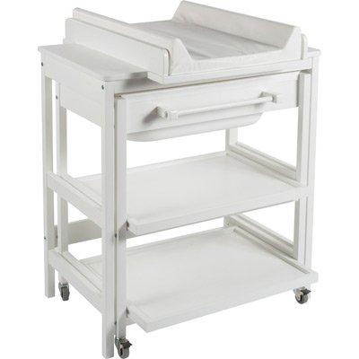 Preisvergleich Produktbild Quax - Table à langer - Table a langer / meuble de bain Quax Comfort smart - Blanc