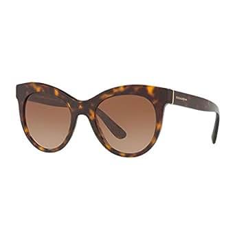 DOLCE & GABBANA Dolce & Gabbana Damen Sonnenbrille » DG4287«, braun, 502/13 - braun/braun