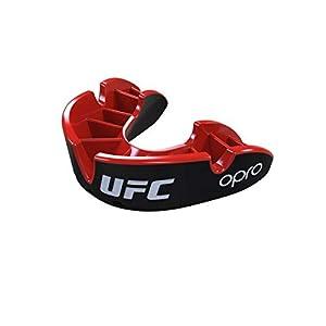 """Opro """"UFC Zahnschutz Silver – Black/Red Senior"""