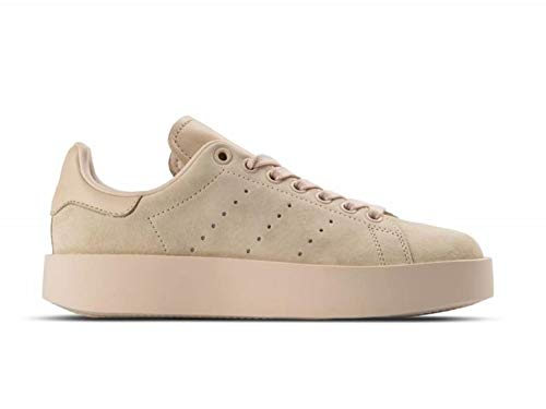 more photos 22104 c2b1d adidas Women s Stan Smith Bold W Fitness Shoes, Beige Lino, ...