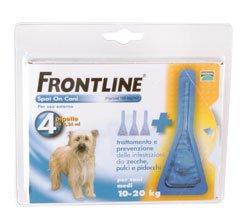 FRONTLINE-SPOTON per cani medi 10-20Kg 4 pipette 10036 - Pet Farmacia Fiala