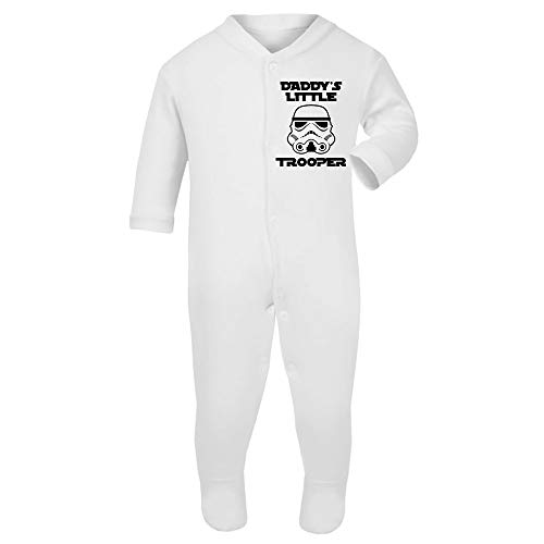 Original Stormtrooper Daddy's Little Stormtrooper Toddler Baby Grow with ()